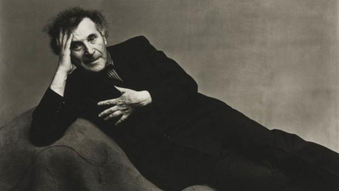 Марк Шагал (Ирвин Пенн, 1947).