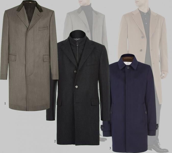 короткое-среднее пальто