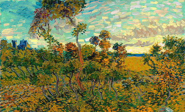 Vincent-van-Gogh--Sunset-at-Montmajour-1