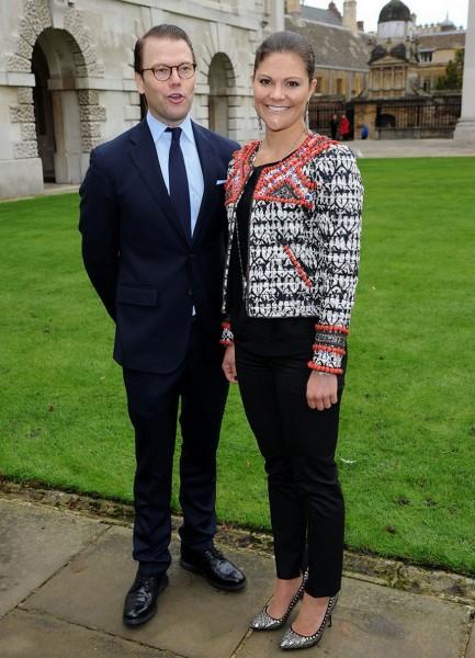 Crown Princess Victoria And Prince Daniel Of Sweden