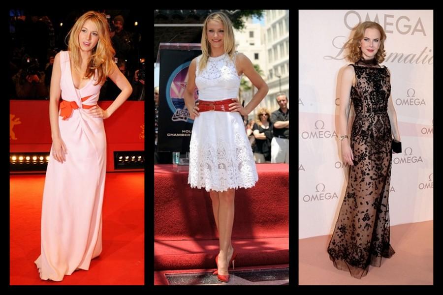 Blake Lively, Cameron Diaz, Nicole Kidman