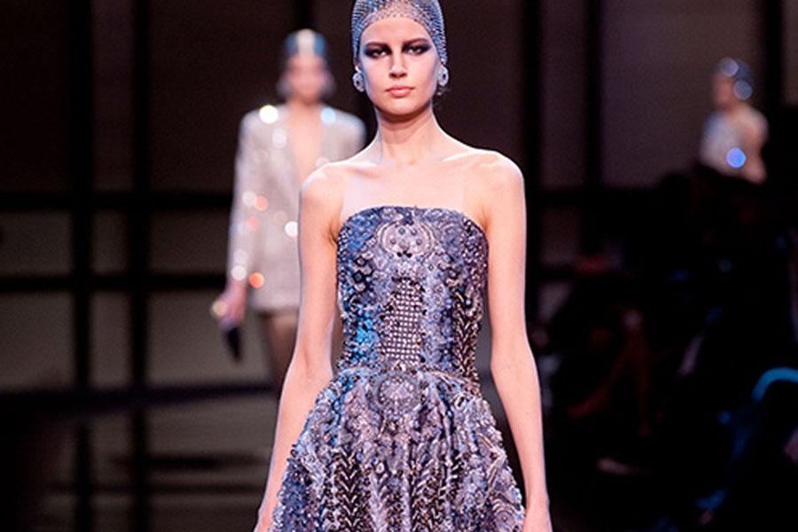 Couture весна-лето 2014: Giorgio Armani Privé