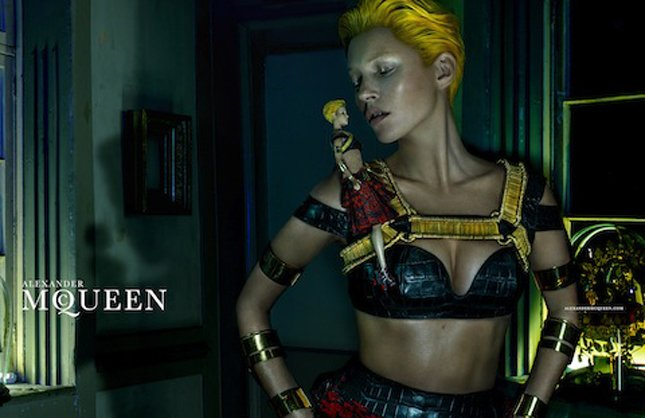 Kate Moss for McQueen