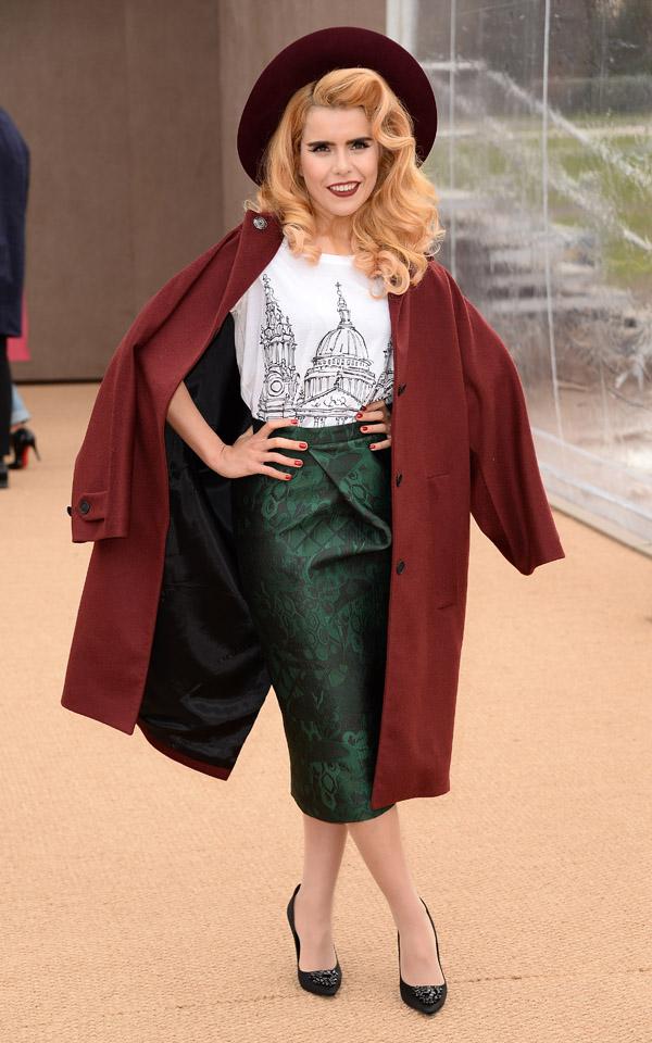 Burberry Womenswear Autumn/Winter 2014 - Arrivals
