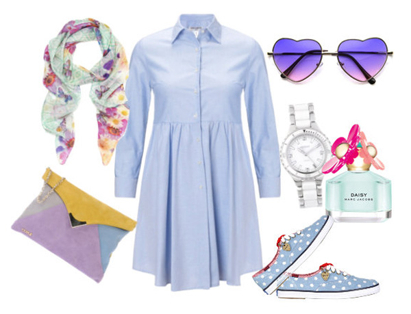 shirt dress look