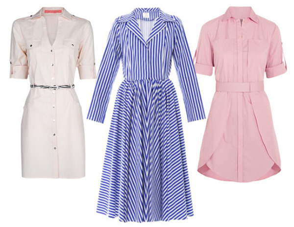 shirt dress_Mango, Stella Jean, Halston Heritage