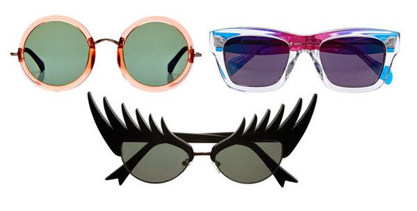 sunglasses_Linda Farrow, Céline, Shoptiques