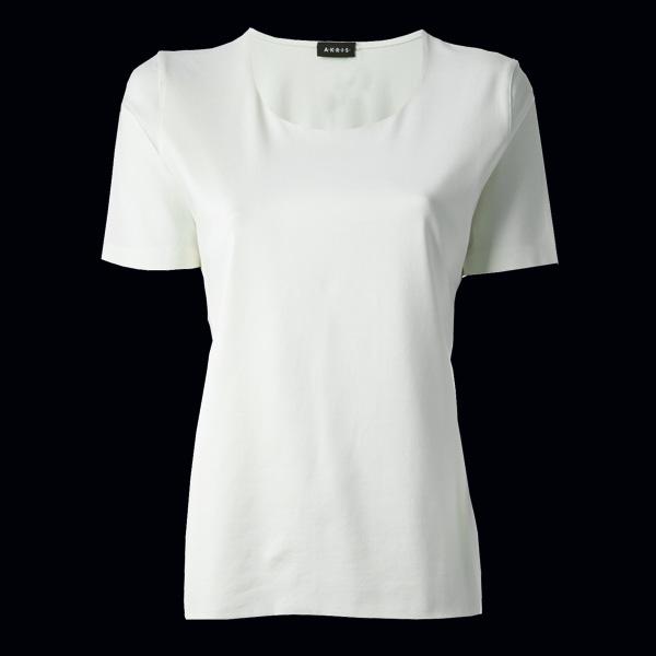Белая футболка Akris