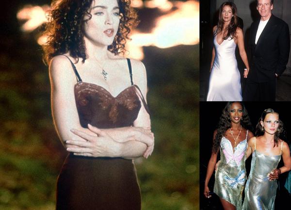 Мадонна, 1989_Кэлвин и Келли Кляйн, 1994, Наоми Кэмпбэлл и Кейт Мосс, 1999