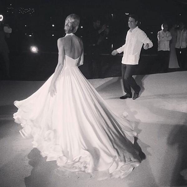Свадебное платье от Мэри Катранзу_2