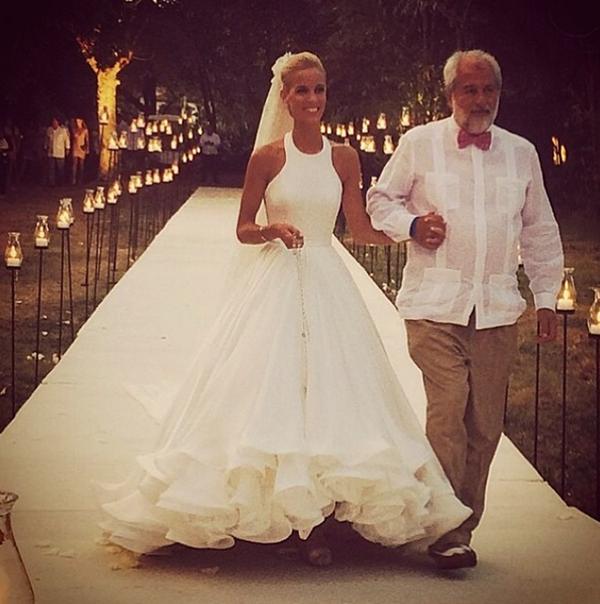 Свадебное платье от Мэри Катранзу_3