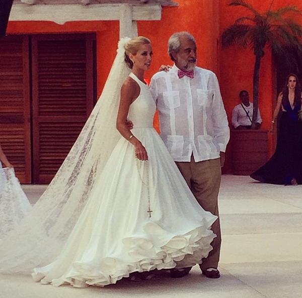 Свадебное платье от Мэри Катранзу_4