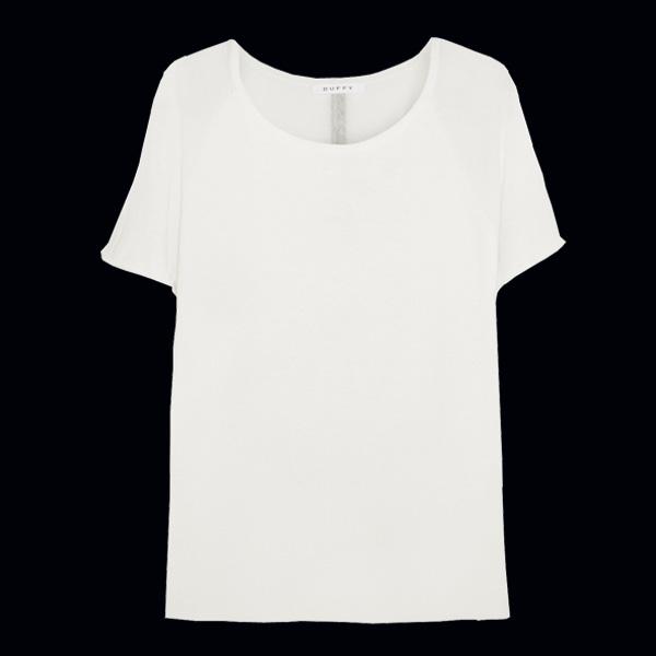 белая футболка Duffy