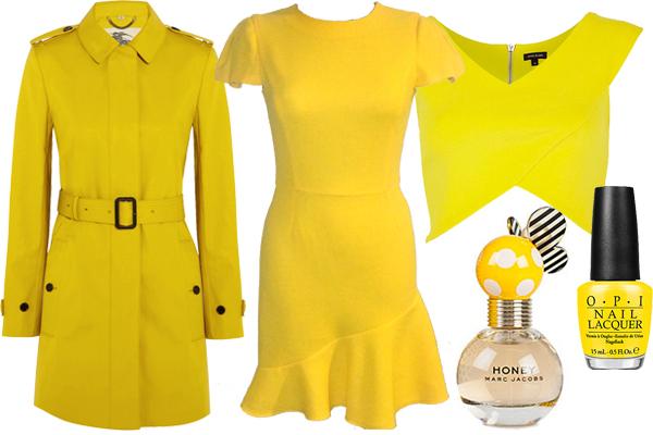 одежда желтого цвета