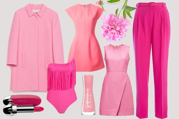 одежда розового цвета весна-лето 2014