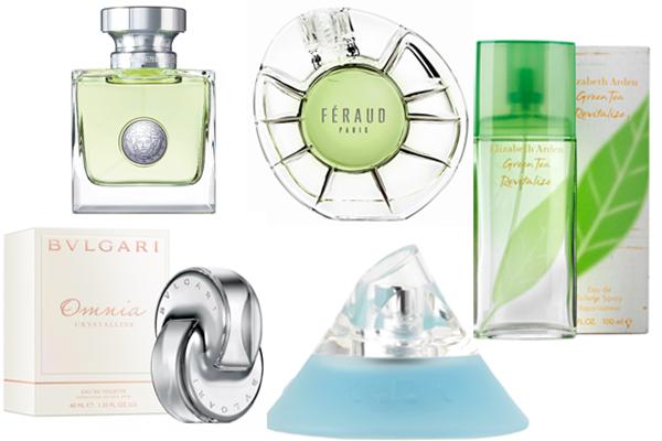парфюм цитрусы