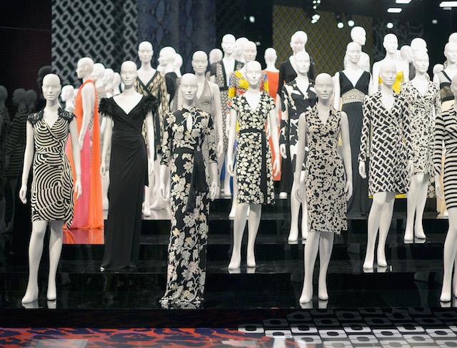Diane Von Furstenberg's Journey Of A Dress Exhibition Opening Celebration - Inside