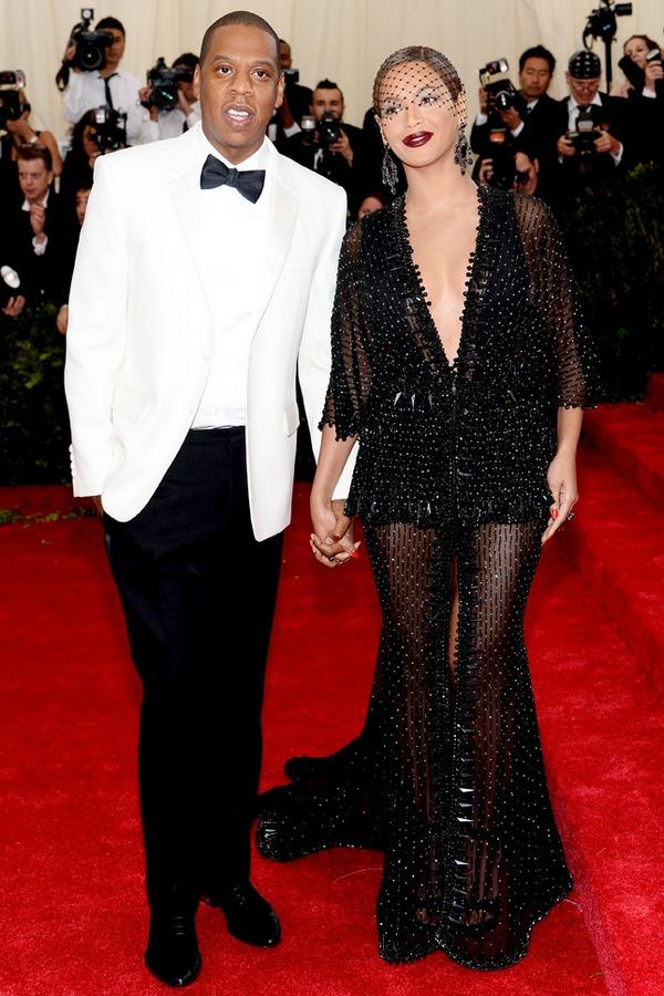 Джей Зи в Givenchy и Бейонсе в Givenchy Couture