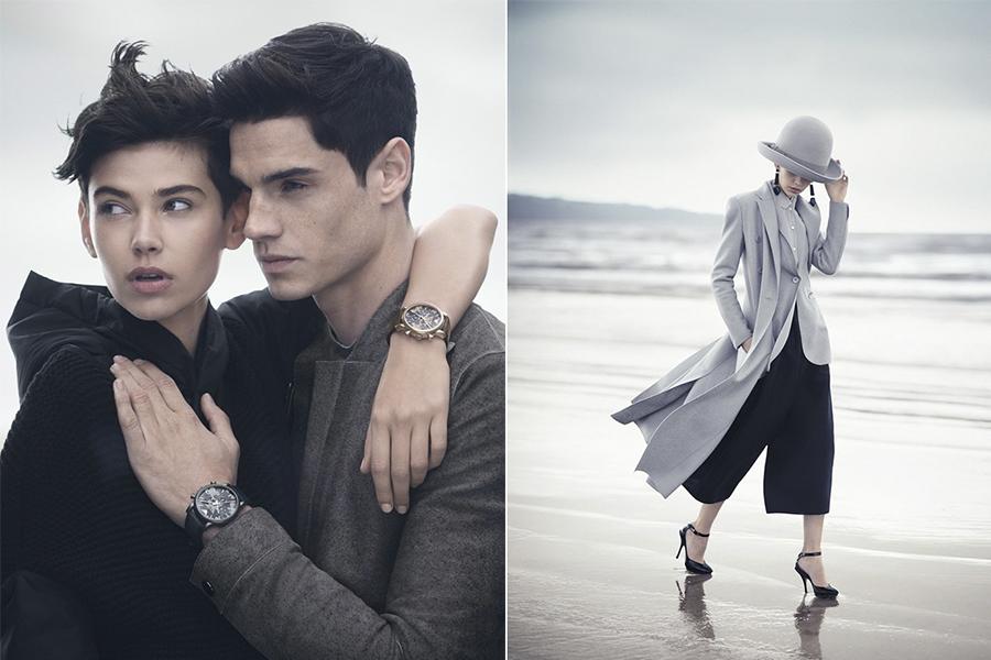 В гармонии с собой: рекламная кампания Emporio Armani