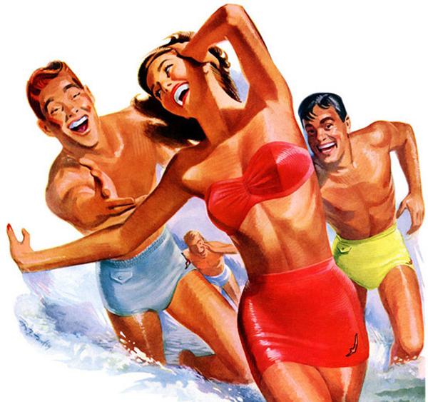 Jantzen swimsuits, 1949