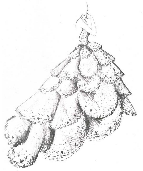 Платье Junon 1949 года, вдохновившее на создание серег Milieu de Siecle