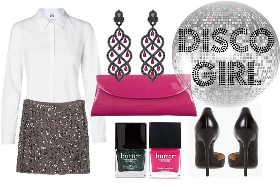Белая рубашка, Vero Moda; юбка, туфли – все Zara; клатч, Maputo 2; серьги, Carla Amorim