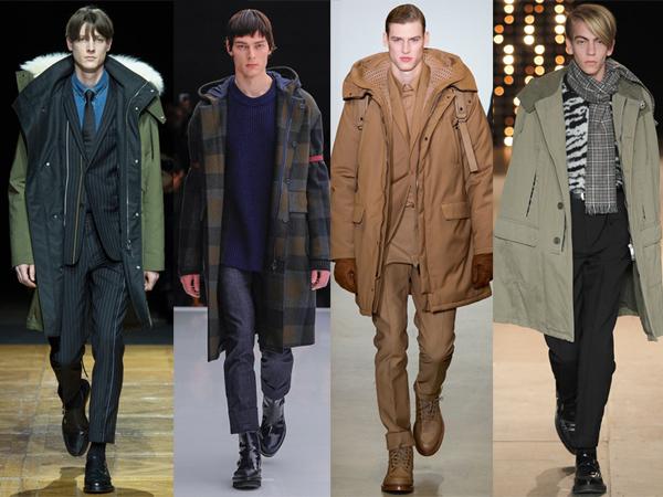 Dior Homme, Z Zegna, Calvin Klein Collection, Saint Laurent