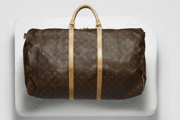 Винтажная сумка Louis Vuitton Keepall