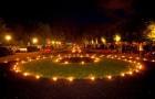 Ночь свечей в Кадриорге