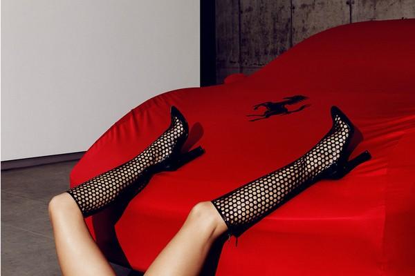 Alessandra Ambrosio for Tamara Mellon3