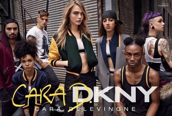 Cara Delevingne DKNY