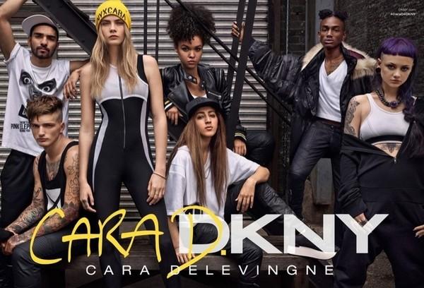 Cara Delevingne DKNY1