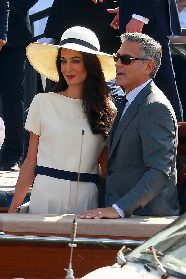 George Clooney And Amal Alamuddin Civil Wedding