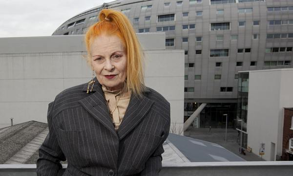 Vivienne Westwood … her designs are eminently suitable for older women