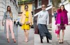 Street Style с Недель моды