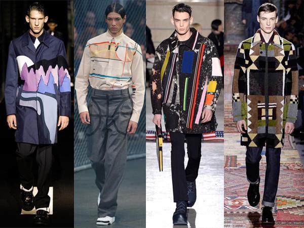 Kenzo, Givenchy, Raf Simons, Valentino