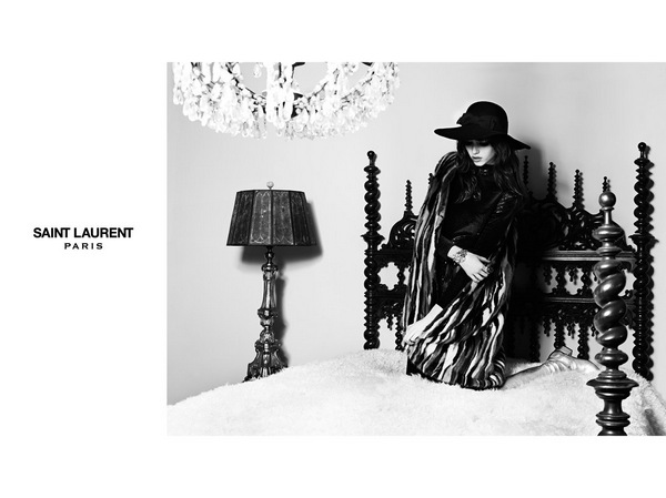 Grace Hartzel for Saint Laurent2
