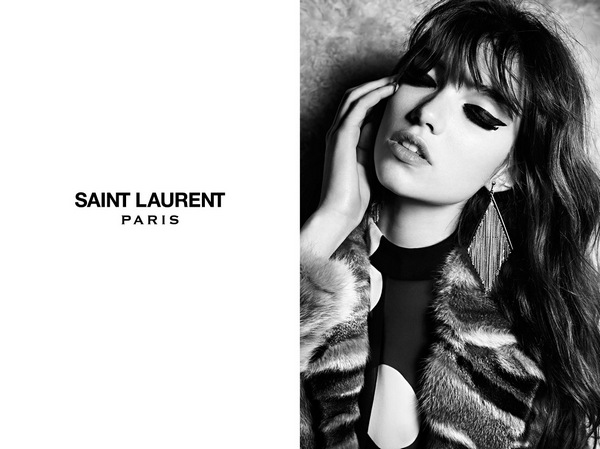 Grace Hartzel for Saint Laurent4