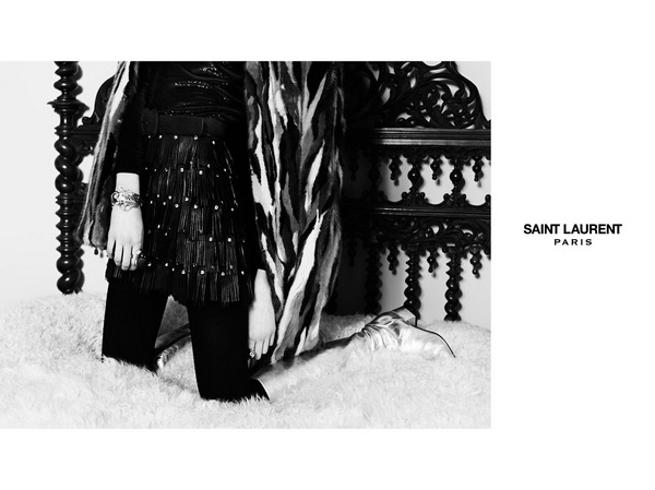 Grace Hartzel for Saint Laurent5
