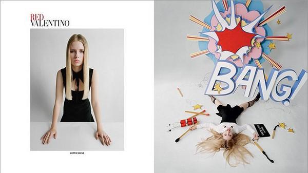 RED Valentino Fall 2014 Ad Campaign