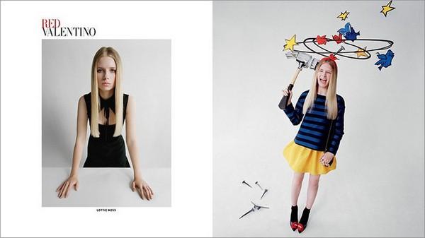 RED Valentino Fall 2014 Ad Campaign1