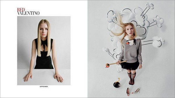 RED Valentino Fall 2014 Ad Campaign2