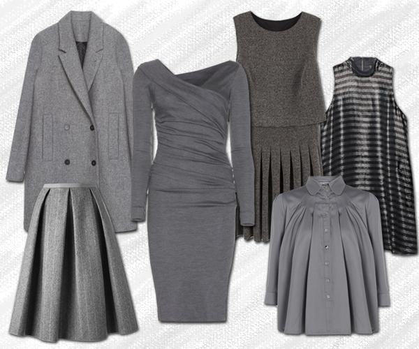 Пальто, Zara; платье, Diane von Furstenberg; платье в складку, Bershka; топ, Stradivarius; юбка, N 8; блузка, wolfandbadger