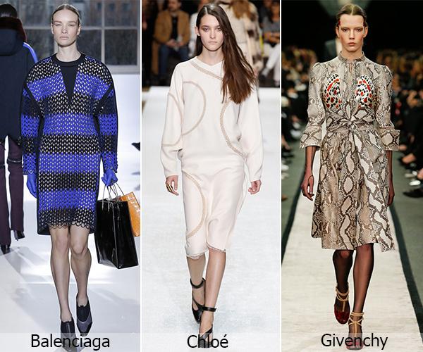 Balenciaga, Chloe, Givenchy