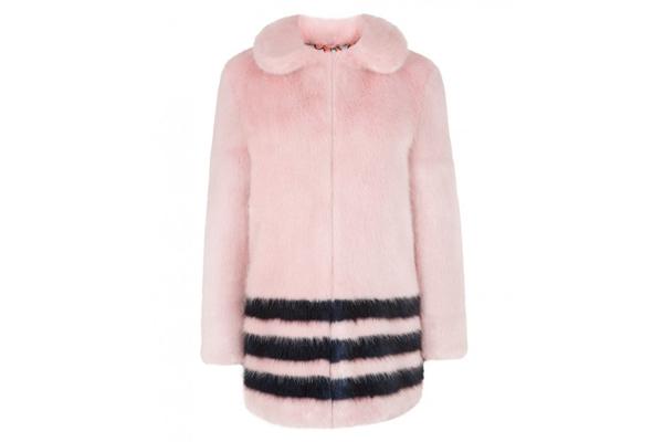 Dulcie Coat faux fur
