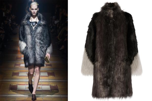 Lanvin faux fur