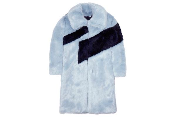 Rejina Pyo faux fur