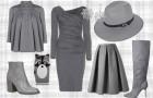 Серый – тренд осеннего сезона