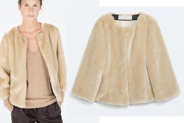Zara faux fur 2