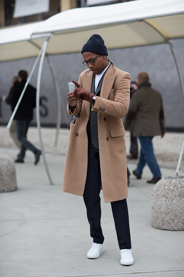 camel coat the sartorialist 2